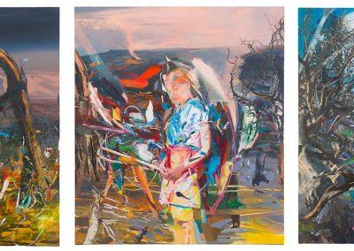Fatamorgana Triptych I, II, III,