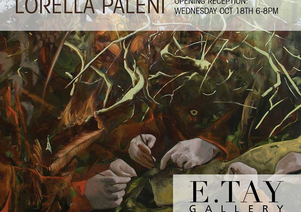 "Lorella Paleni's new show ""Dwellers"" in New York"